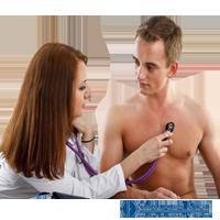 Кабинет для предрейсовых и послерейсовых медицинских осмотров.